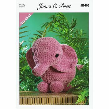 Brett Pattern - Ellie the Elephant - Chunky JB403