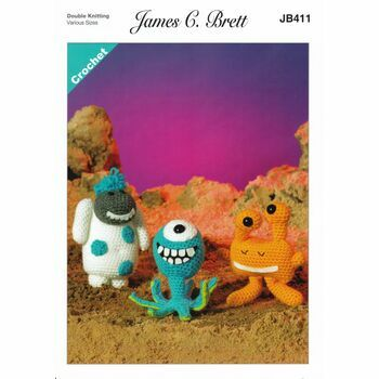 Brett Pattern - Magic Monsters 2 - DK JB411