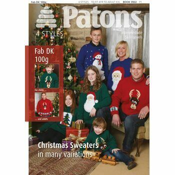 Patons Christmas Sweaters Knitting Patterns