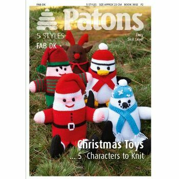 Patons Christmas Toys Knitting Pattern