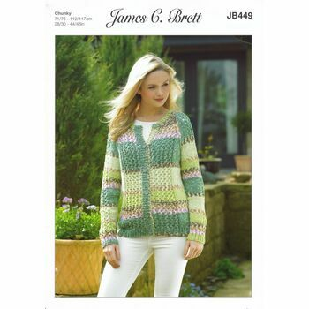 James C Brett Knitting Pattern - Chunky JB449