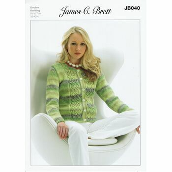James C Brett Knitting Pattern - DK JB040