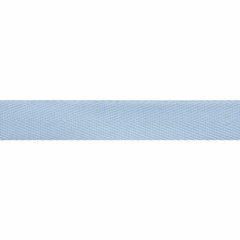 Herringbone Tape (20mm) - Light Blue (Per metre)