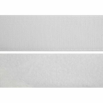 Groves Hook & Loop Tape Stick & Stick (20mm) - White (Per metre)