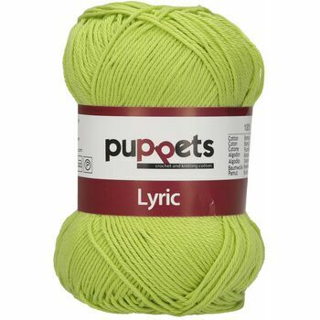 Puppets: Lyric No. 4: 50g (150m): Light Green