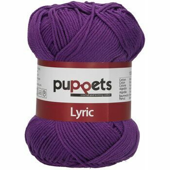 Puppets: Lyric No. 4: 50g (150m): Purple