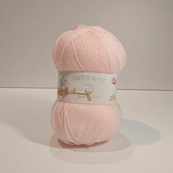 James C Brett Super Soft - 4 Ply - Peach/Pink - BY8 - 100g