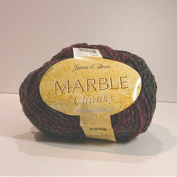 James C Brett Marble Chunky: MC58: 200g