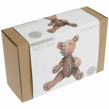 Groves Toy Sewing Kit - Bear Brown