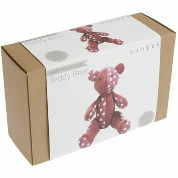 Groves Toy Sewing Kit - Pink Bear