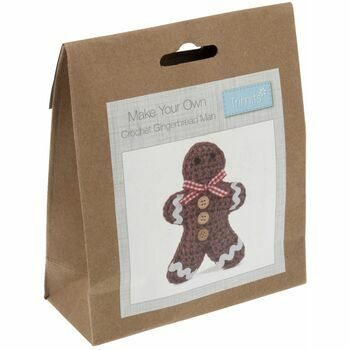 Trimits Christmas Crochet Kit - Gingerbread Man