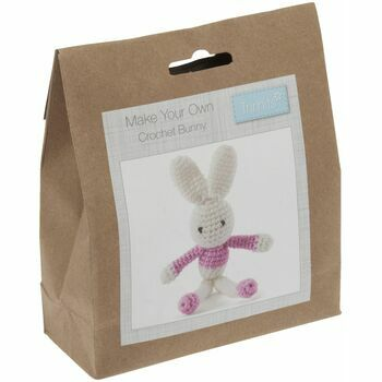 Trimits Crochet Kit - Pink Bunny