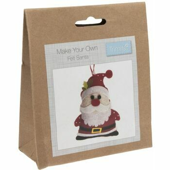 Trimits Felt Christmas Decoration Kit - Santa