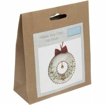 Trimits Felt Christmas Decoration Kit - Wreath