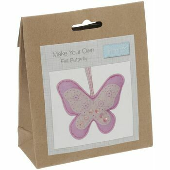 Trimits Felt Decoration Kit - Butterfly