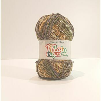 James C Brett Mojo Magic Chunky Yarn MJ06: 100g