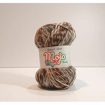 James C Brett Mojo Magic Chunky Yarn MJ05: 100g
