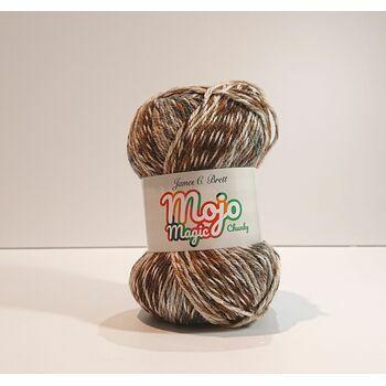 James C Brett Mojo Magic Chunky Yarn MJ05: 100g
