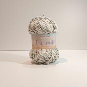 James C Brett Tranquil Chunky Yarn TQ01: 100g