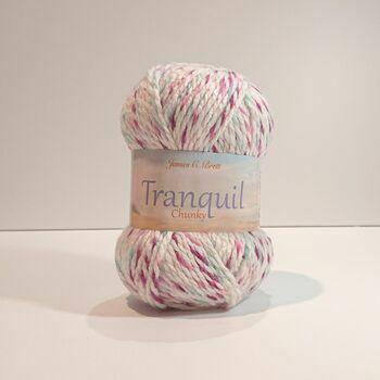 James C Brett Tranquil Chunky Yarn TQ03: 100g