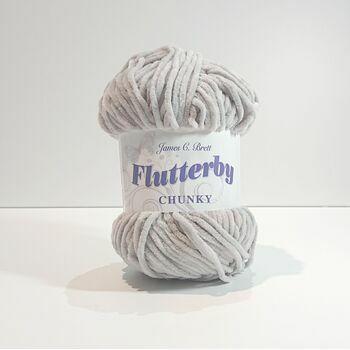 James C Brett Flutterby Chunky: B36: 100g