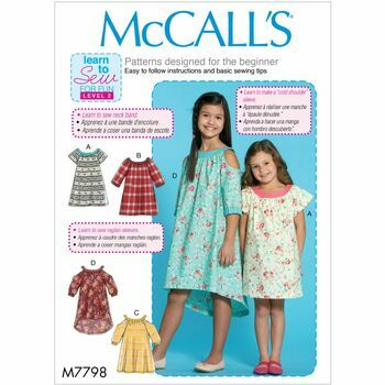 McCalls pattern M7798