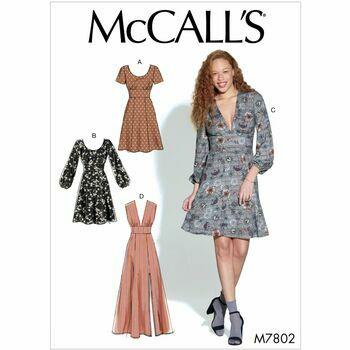 McCalls pattern M7802