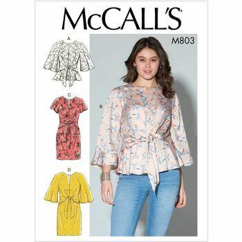McCalls pattern M7803