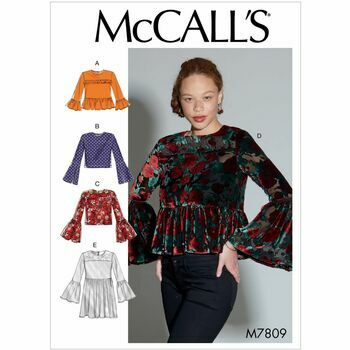 McCalls pattern M7809