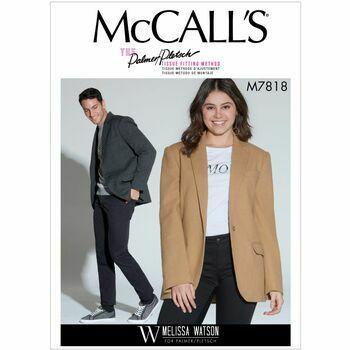 McCalls pattern M7818