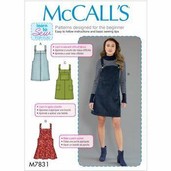McCalls pattern M7831