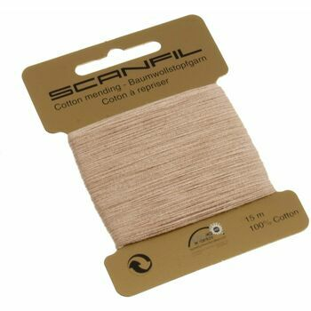 Scanfil Mending Cotton 15m - Beige