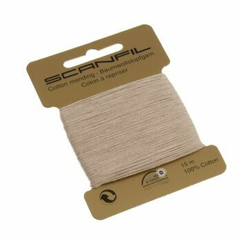Scanfil Mending Cotton 15m - Dark Beige