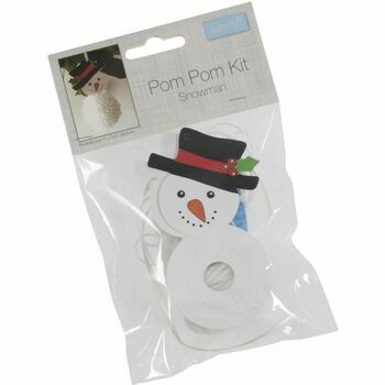 Trimits Pom Pom Decoration Kit - Snowman