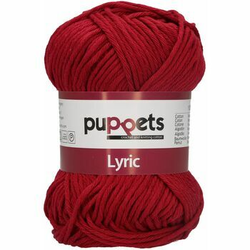 Puppets: Lyric No. 8: 50g (70m): Cardinal Red