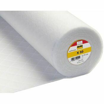 Vlieseline: Quiltex Quilt Wadding Iron-On: 90cm: White: Per metre