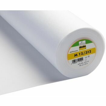 Vilene: Sew-In Interlining Standard Medium: 90cm: White: Per metre
