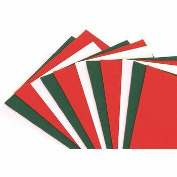 Trimits Christmas Colours Felt Rolls x 3 - 1m x 45cm