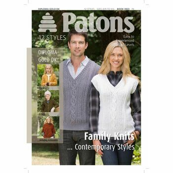 Patons Pattern - Contemporary Family Knits