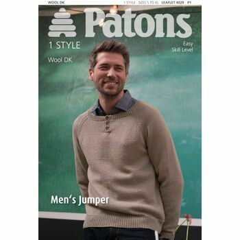 Patons Pattern - Mens Jumper
