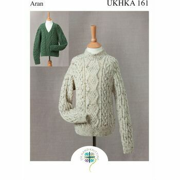 UKHKA Pattern 161: Childrens Jumpers