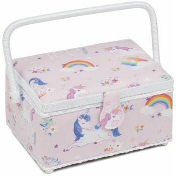 HobbyGift Classic Collection Sewing Box - Unicorn