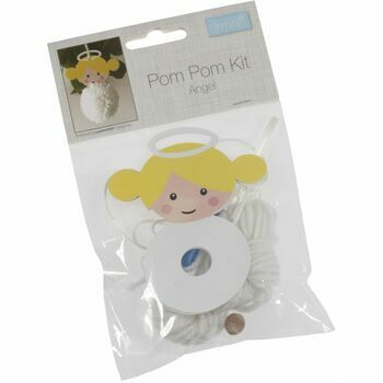 Trimits Pom Pom Decoration Kit - Angel