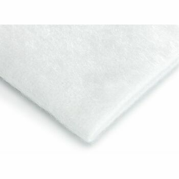 Hallis Synthetic Curtain Interlining (Bump): 220gsm: White (Per metre)