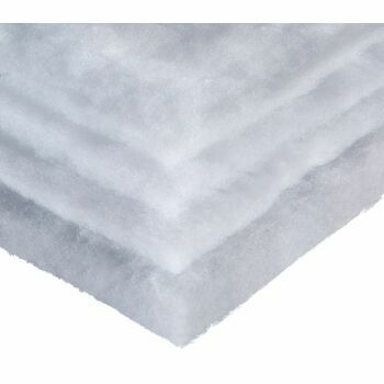 Hallis Polyester Wadding: 137cm wide: 135g (4oz)/Sq mtm (Per metre)