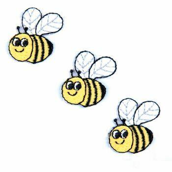 Trimits Iron on & Sew on Motif - Three Bees