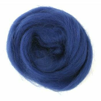 Trimits Natural Wool Roving (10g) - Sapphire