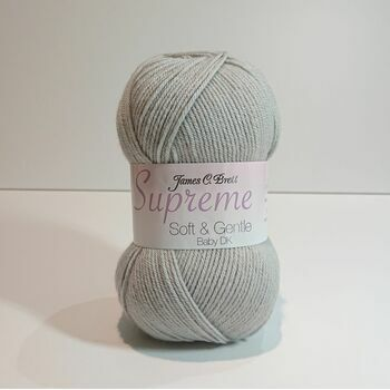 Supreme Soft & Gentle Baby DK - Light Grey - SNG23 (100g)