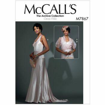 McCalls pattern M7867