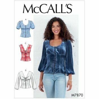 McCalls pattern M7870